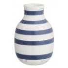 Omaggio Vase- Kähler - H12,5 cm- blå -