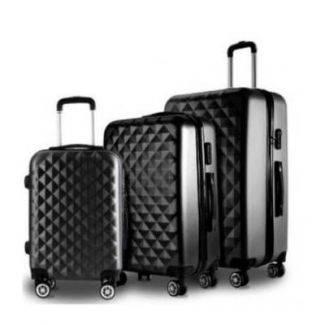 Conzept Travel flykuffert ABS str. 24 - mellem