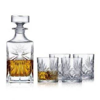 Lyngby Melodia whiskysæt - 5 dele