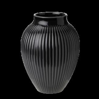Knapstrup vase Sort 27 cm - Gaver 200 - 300 kr.