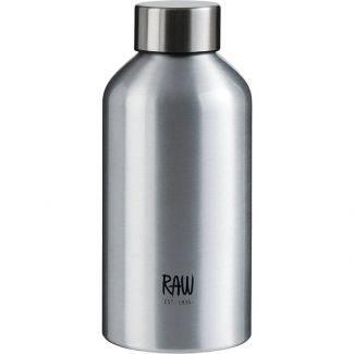 RAW drikkeflaske To go 0,5 L sølv - Tag med