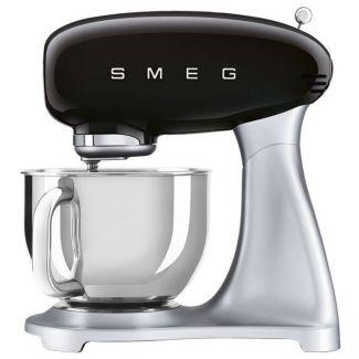SMEG 50' look - SMF02Bleu - 4,8 ltr- 800watt-sort - Køkkenmaskiner