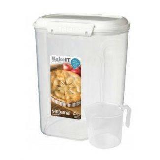 Sistema bake-it - boks med kop 3,25 liter - Sistema