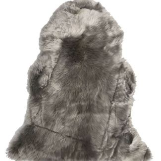 Lys grå lammeskind - New Zealand - Tæpper & måtter