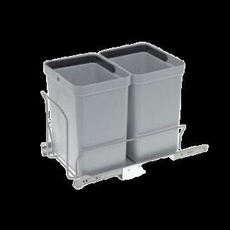 Affaldsstativ med 2 spande á 10 liter - Rengøring & vask