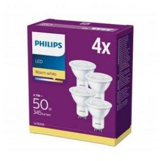 Philips LED 50 watt GU-10 spot - varm hvid - Div. el til boligen