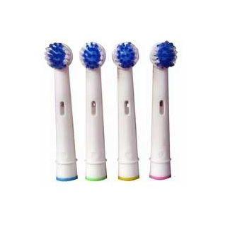 4 Tandbørstehoveder - oral-b kompatible - El-artikler