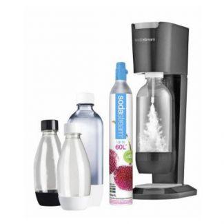 Sodavandsmaskine - Sodastream - megaPack titanium-silver - Køkkenmaskiner